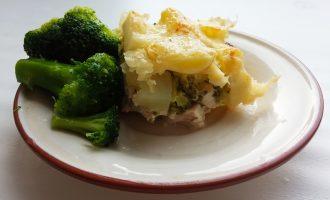 Куриная запеканка с брокколи в духовке