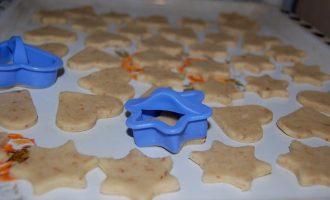 Сырное печенье с мускатным орехом и пикантной начинкой